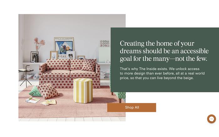 The Inside furniture website 2