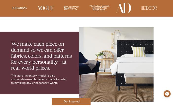 The Inside furniture website 3