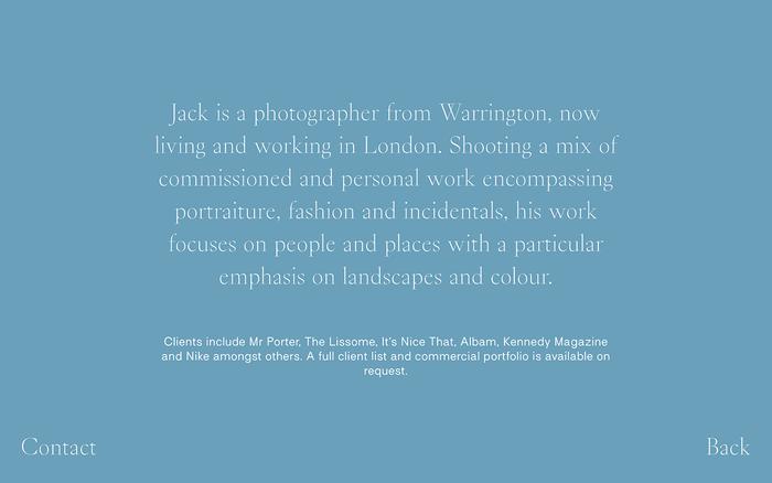 Jack Johnstone portfolio website 6