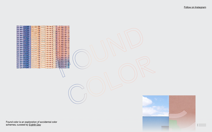 Found Color Archive website 1