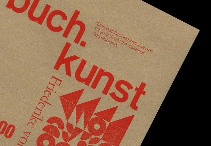 Buch.kunst lecture poster 1