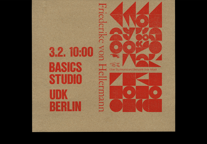 Buch.kunst lecture poster 3