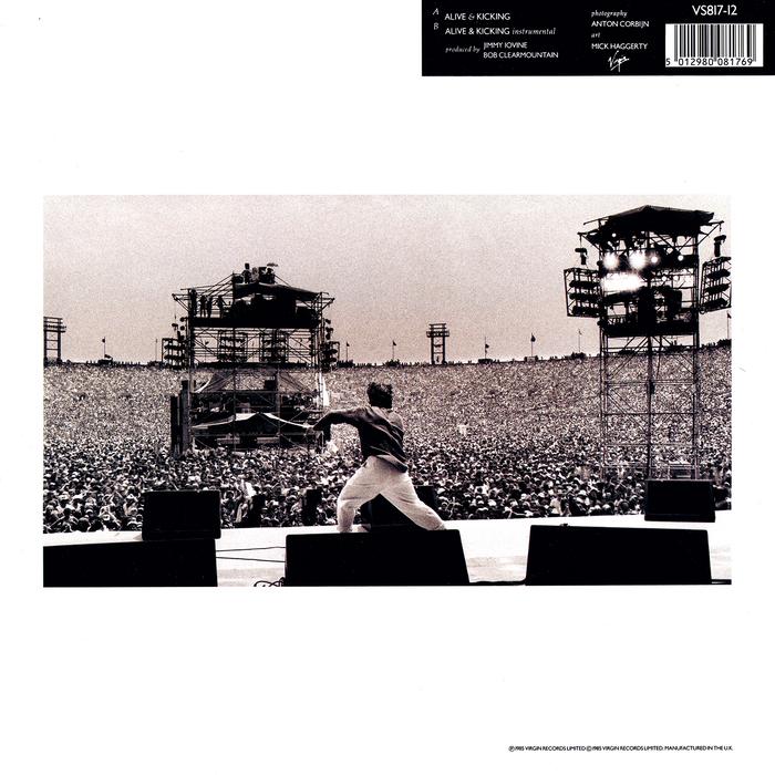 Back cover, photograph by Anton Corbijn