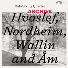 Oslo String Quartet – <cite>Archive</cite> album art