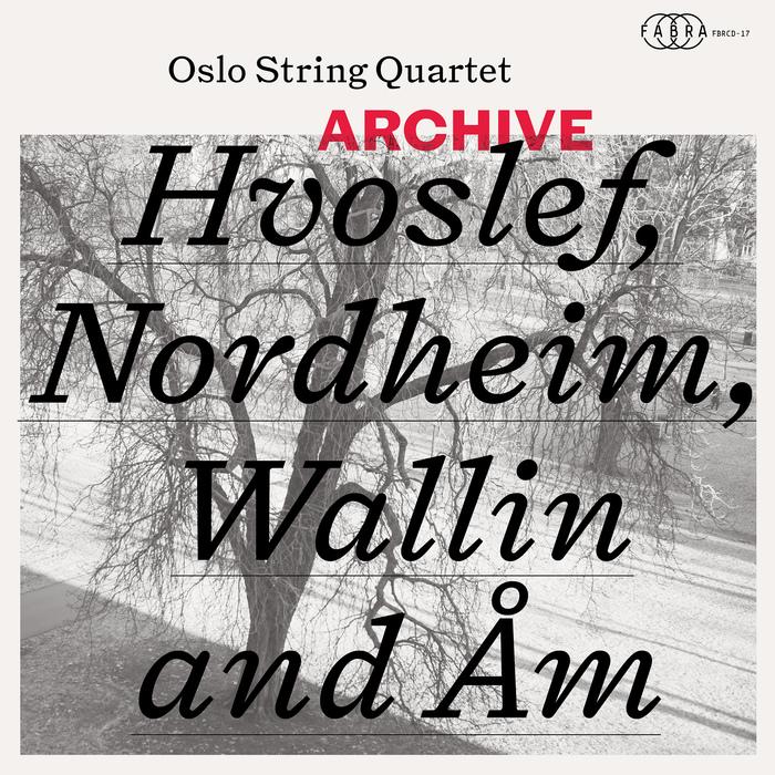 Oslo String Quartet – Archive album art 1