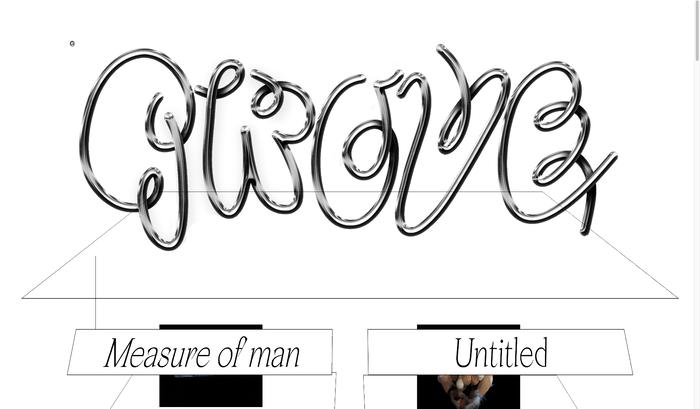 Grove website 1