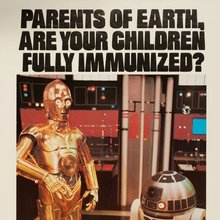 """Parents of Earth, Are Your Children Fully Immunized?"" public service announcement"