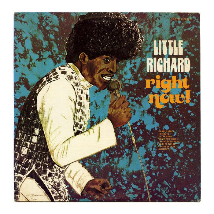 Little Richard – Right Now! album art