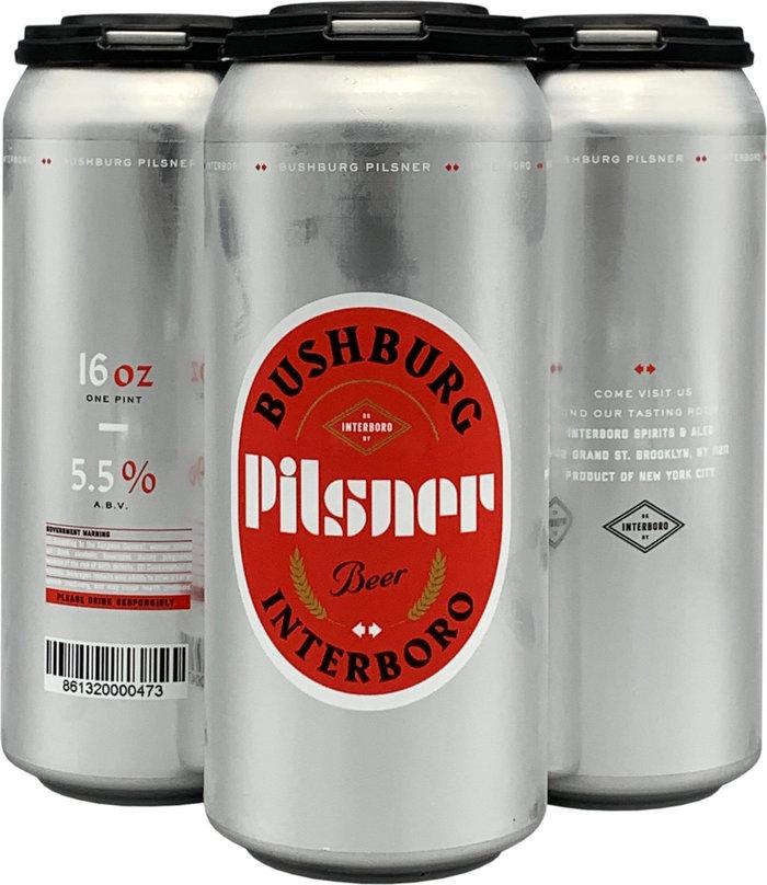 Bushburg Pilsner by Interboro Spirits & Ales 2