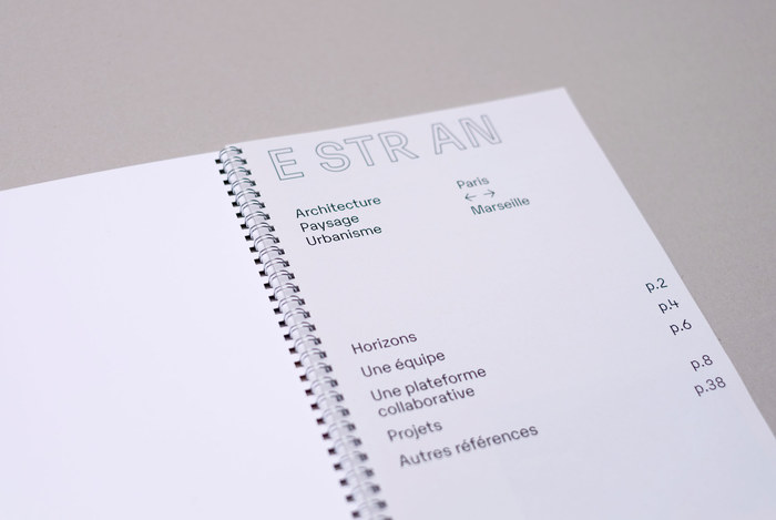 Estran identity and website 2