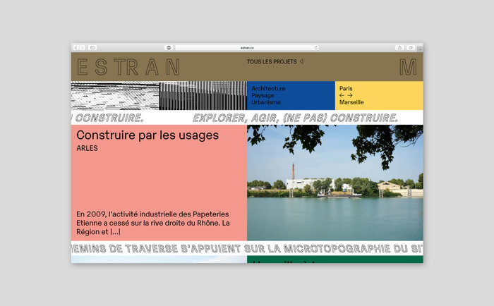 Estran identity and website 6