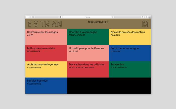 Estran identity and website 8
