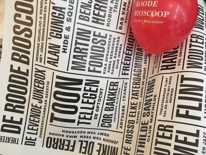 Roode Bioscoop program posters 4