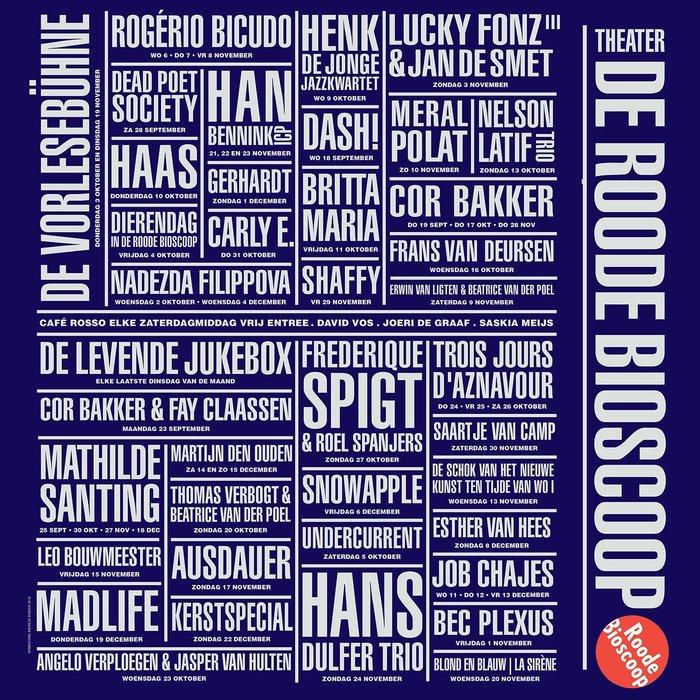 Roode Bioscoop program posters 3
