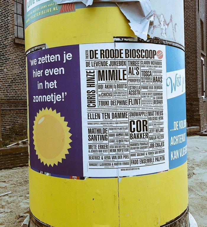Roode Bioscoop program posters 2