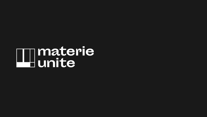 Materieunite identity and website 1