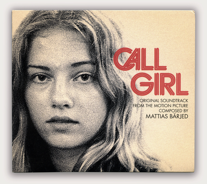 Cover for the Call Girl soundtrack released on Razzia Records, designed by Wickholm Formavd.