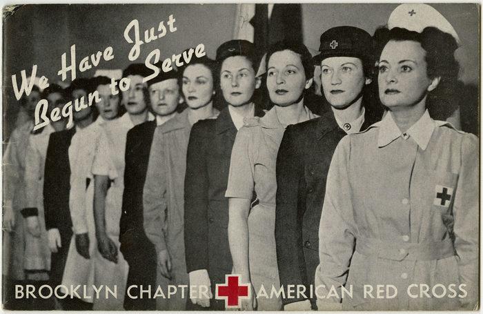 Annual Report, American Red Cross, Brooklyn Chapter, 1943-44; American Red Cross, Brooklyn Chapter collection (1985.091), Brooklyn Historical Society