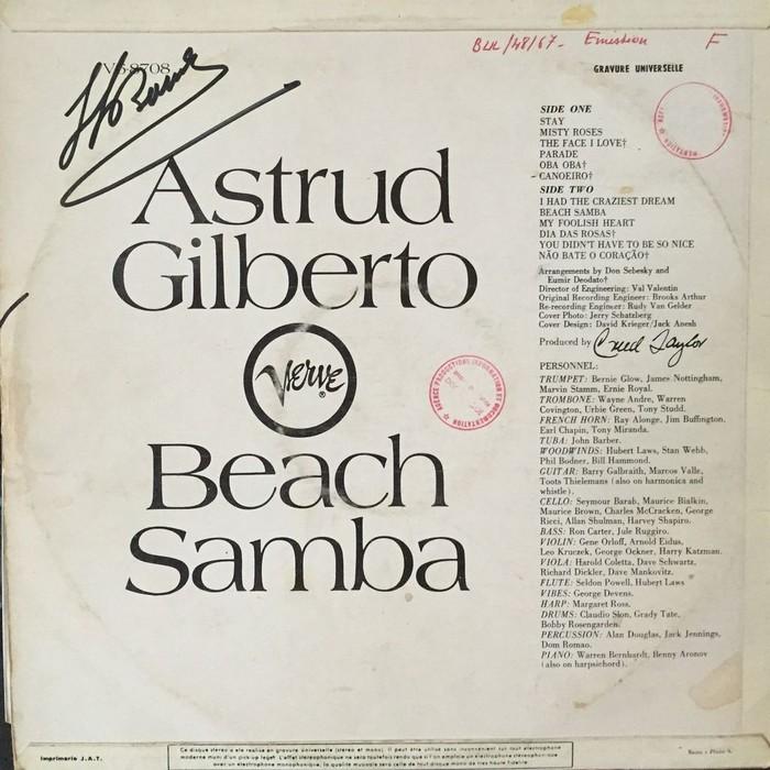 Astrud Gilberto – Beach Samba 2