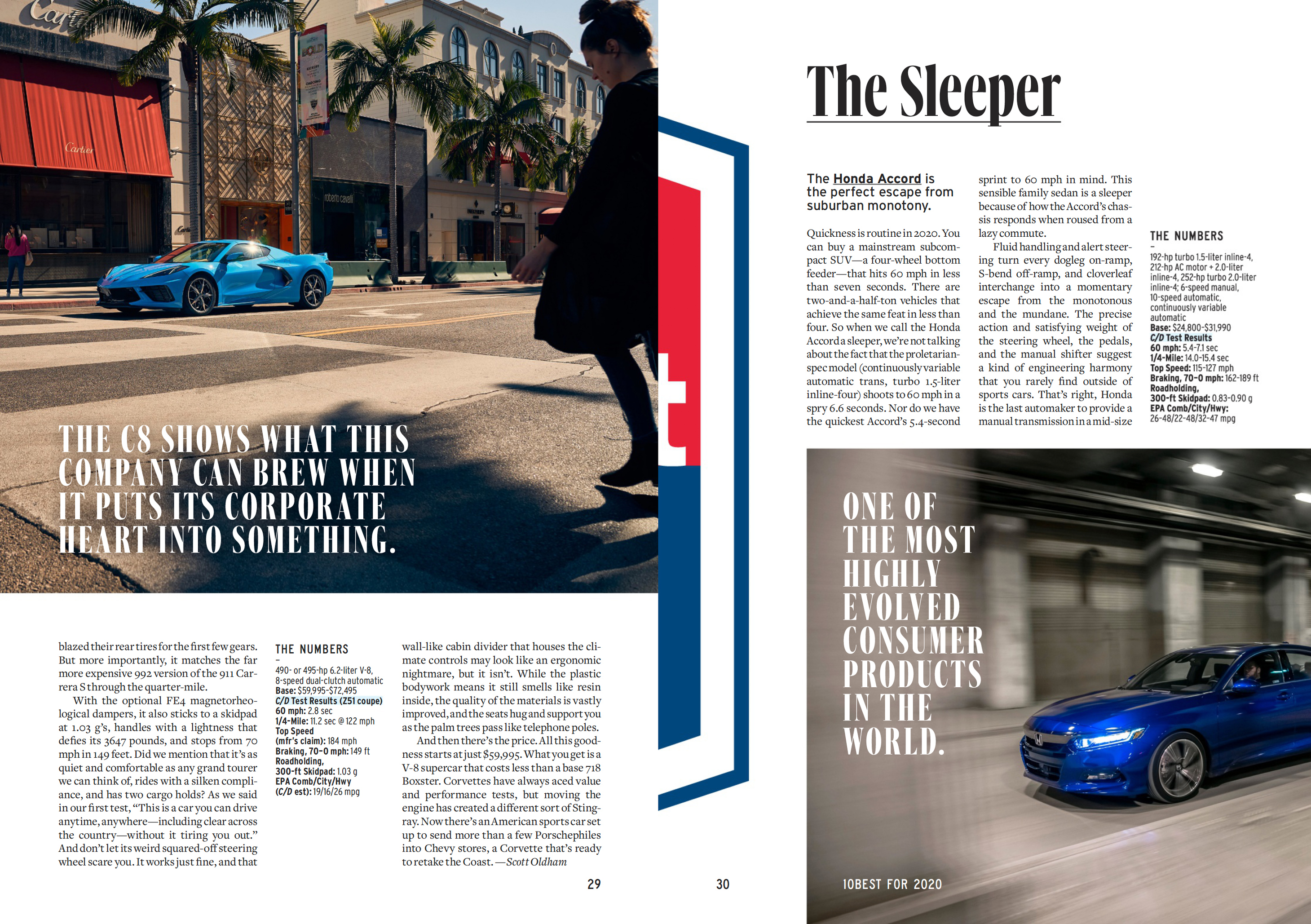 Car And Driver Magazine 2020 Redesign Fonts In Use