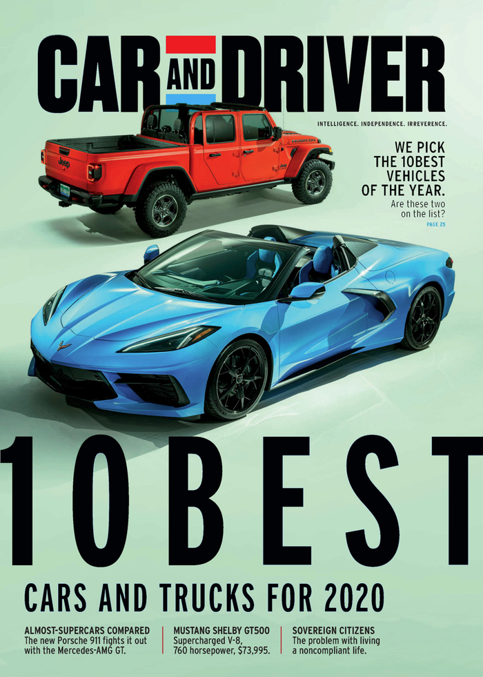 Car and Driver magazine (2020 redesign) 5