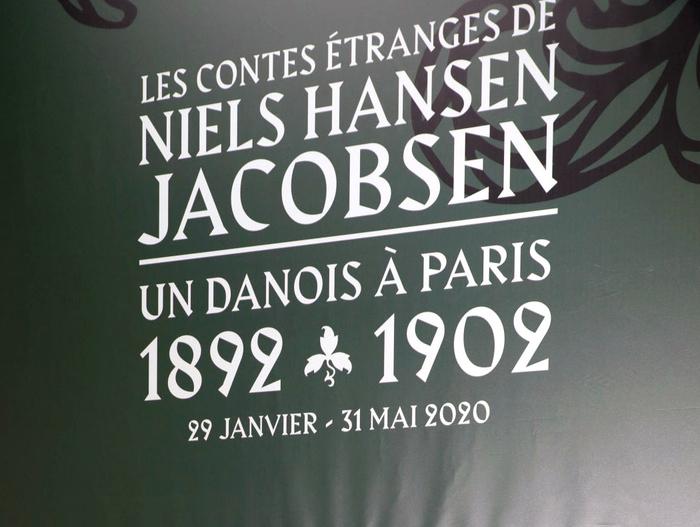 Les Contes Étranges de Niels Hansen Jacobsen at Musée Bourdelle exhibition graphics 1