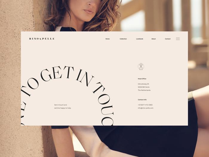 Rino & Pelle identity and website 1