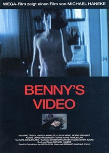 <cite>Benny's Video</cite> movie poster