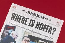 Netflix: <cite>The Irishman</cite> newspaper