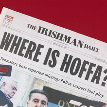 Netflix: <cite>The Irishman</cite> newspaper
