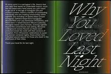 "<cite>Cult Classic</cite>, Issue 03 ""Nocturnal"""