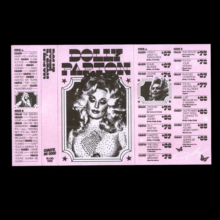 Dolly Parton bootleg cassette 2