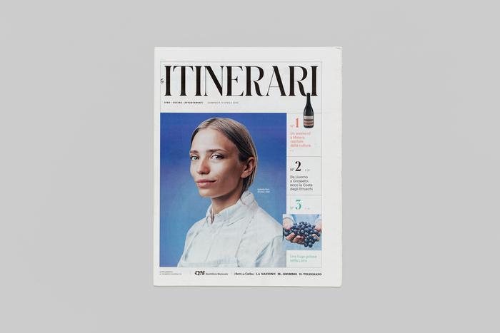 Itinerari newspaper supplement 1