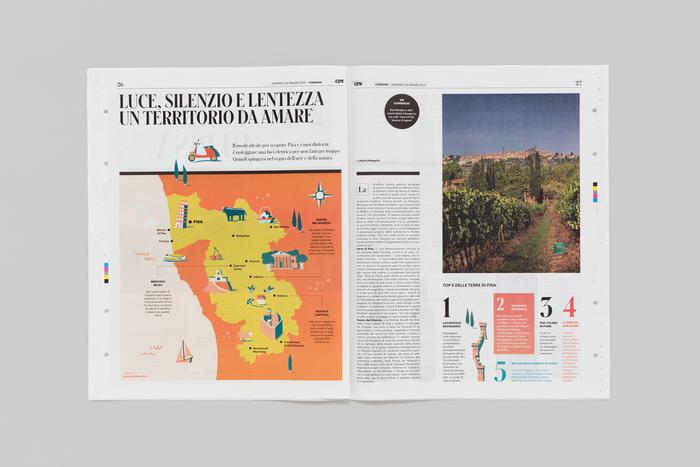 Itinerari newspaper supplement 6