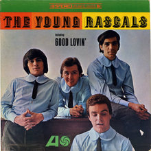 <cite>The Young Rascals</cite> album art