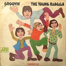 The Young Rascals – <cite>Groovin'</cite> album art