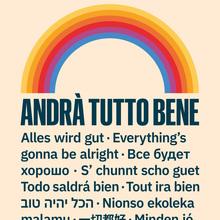 """""""Andrà Tutto Bene"""" poster"""