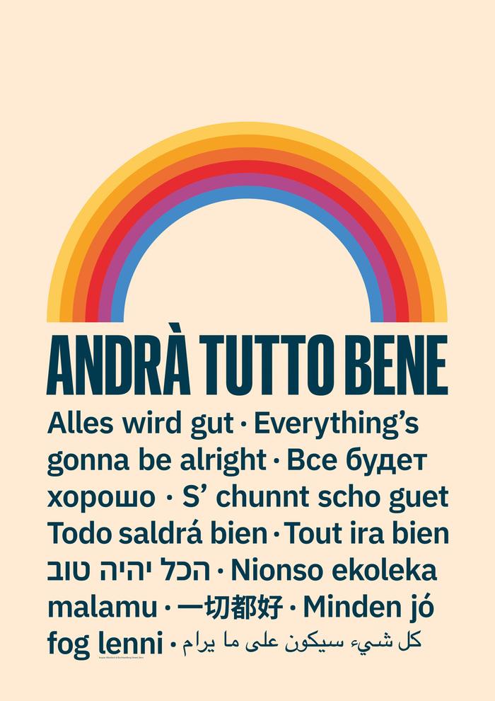 """""""Andrà Tutto Bene"""" poster 2"""