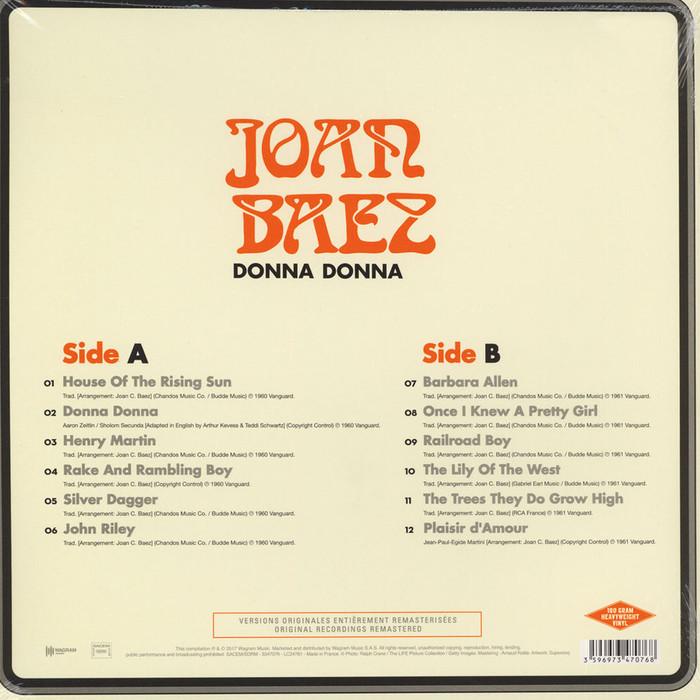 Joan Baez – Donna Donna album art 2