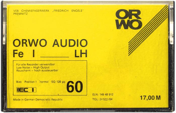 ORWO Audio Fe I LH cassette 1