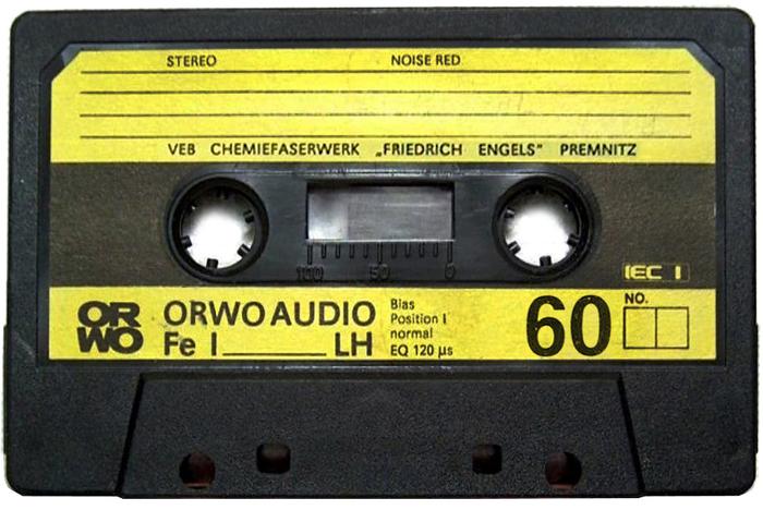 ORWO Audio Fe I LH cassette 2