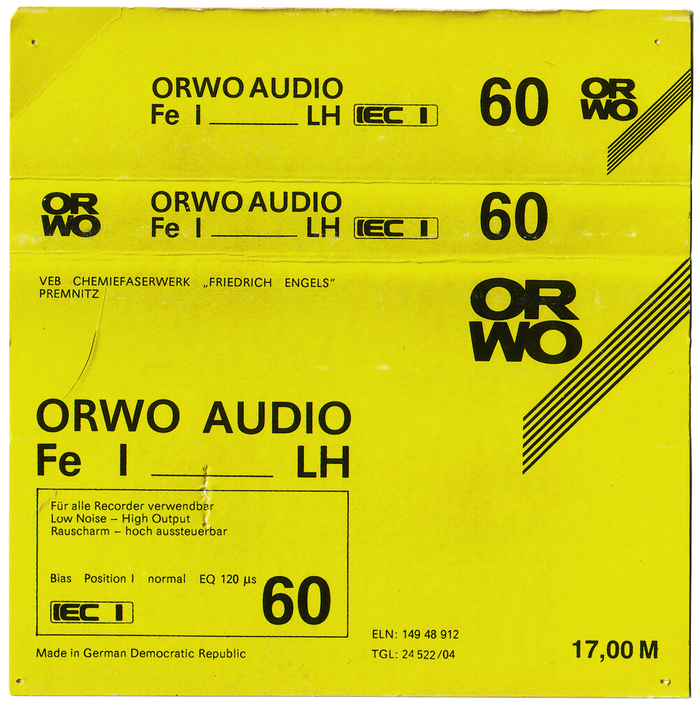 ORWO Audio Fe I LH cassette 3
