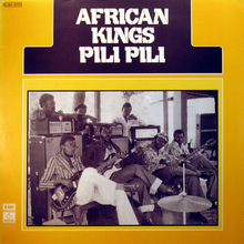 African Kings – <cite>Pili Pili</cite> album art