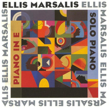 Ellis Marsalis – <cite>Piano In E / Solo Piano</cite> album art