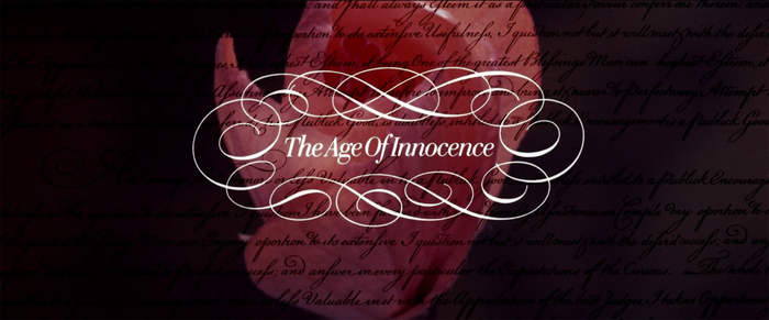 The Age of Innocence (1993) title sequence 1