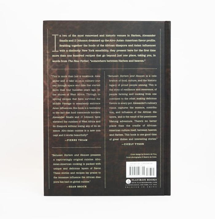 Back cover with testimonials set in reversed Jubilat.