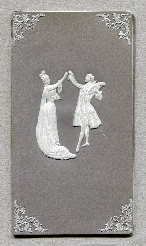 Menu for a wedding in Gardelegen, 1909 2