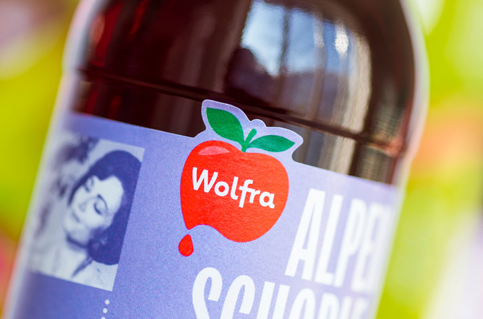 Wolfra Alpenschorle packaging 7