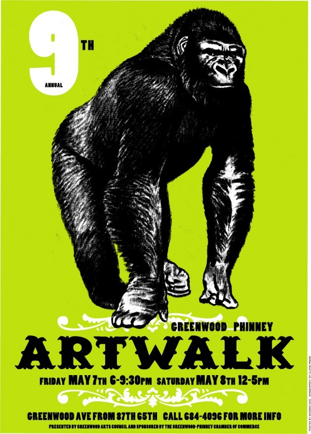 9th annual Greenwood Phinney Artwalk
