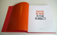 <cite>David Bowie is the Subject</cite>